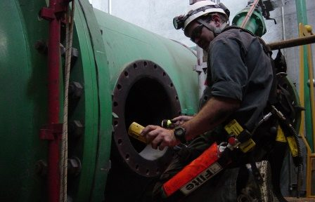 Confined space gas detection