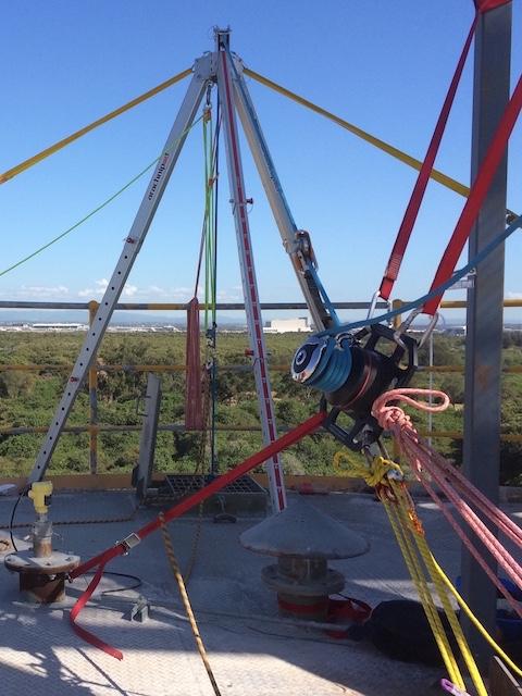Harkin winch rigging