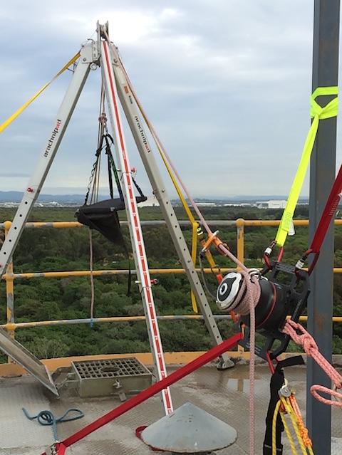 Ferno arachnipod rigging