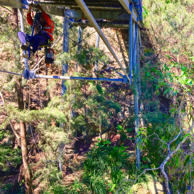 Rope Access Bridge Maintenance