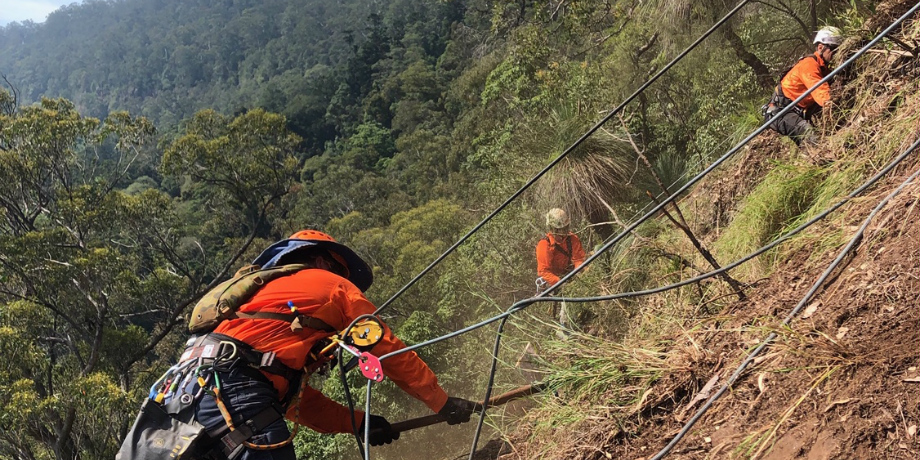 Rope Access Geotech Work